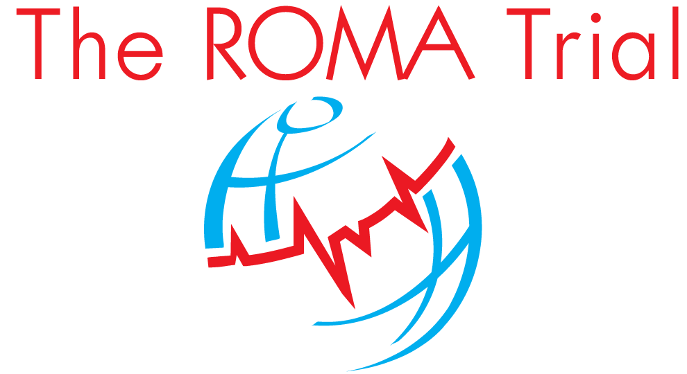 the roma trial logo